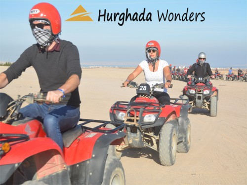 Sunset Desert Safari Trip by Quad Bike